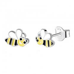 Boucles d'oreilles Minnie blanche