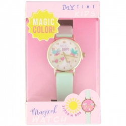 Montre Ananas rose magic UV