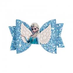 Barrette noeud Elsa