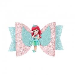 Barrette noeud Ariel la petite sirène