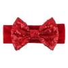 Bandeau velours rouge