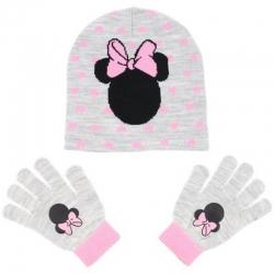 Bonnet et gants Minnie
