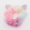 Chouchou fourrure multicolore