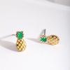 Boucles d'oreilles ananas